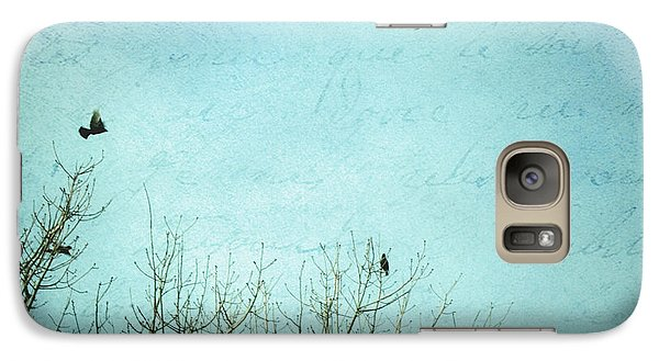 Galaxy Case featuring the photograph Letters Of Flight by Lisa Parrish