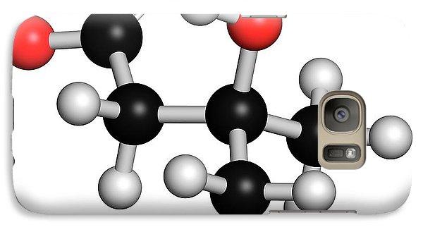 Leucine Metabolite Molecule Galaxy S7 Case by Molekuul