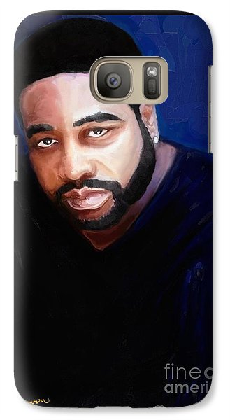 Galaxy Case featuring the painting Levert by Vannetta Ferguson