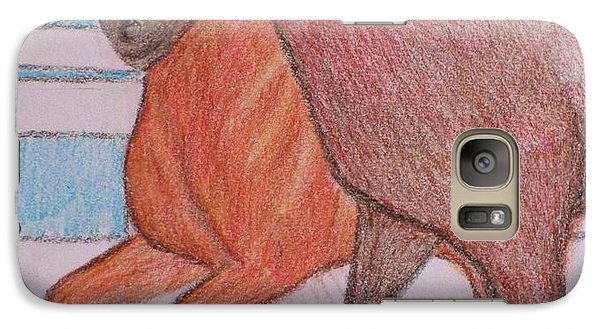 Galaxy Case featuring the drawing Lexington  by Christy Saunders Church