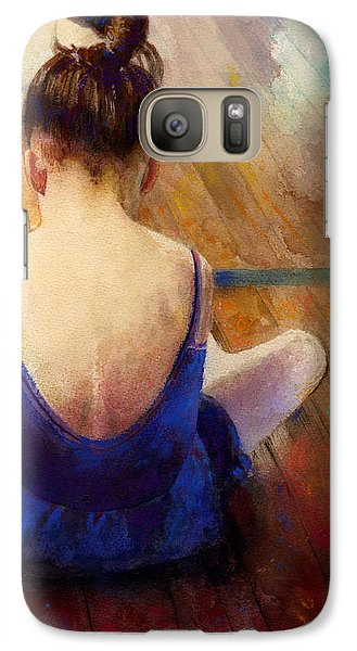 Galaxy Case featuring the painting LG by Andrew King
