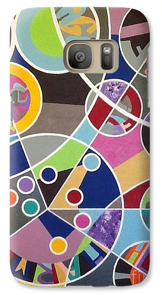 Galaxy Case featuring the painting Lgbt Declaration by Hang Ho