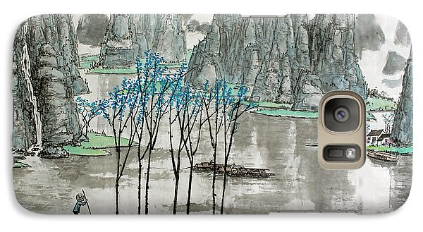 Galaxy Case featuring the photograph Li River In Spring by Yufeng Wang