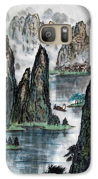 Galaxy Case featuring the photograph Li River by Yufeng Wang