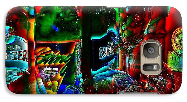 Galaxy Case featuring the photograph Libations by Linda Bianic