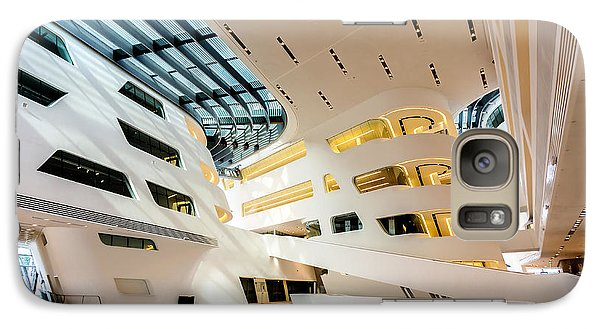 Library Interior 2  Zaha Hadid Wu Campus Vienna  Galaxy S7 Case
