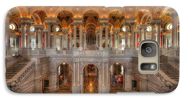 Library Of Congress Galaxy S7 Case by Steve Gadomski