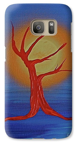 Galaxy Case featuring the painting Life Blood By Jrr by First Star Art