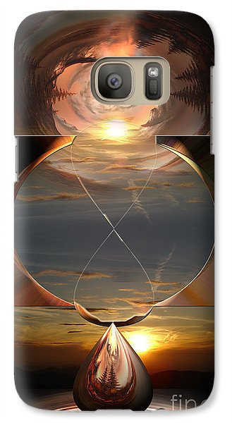 Galaxy Case featuring the photograph Life Clock by Bruno Santoro