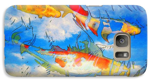 Life Is But A Dream - Koi Fish Art Galaxy S7 Case