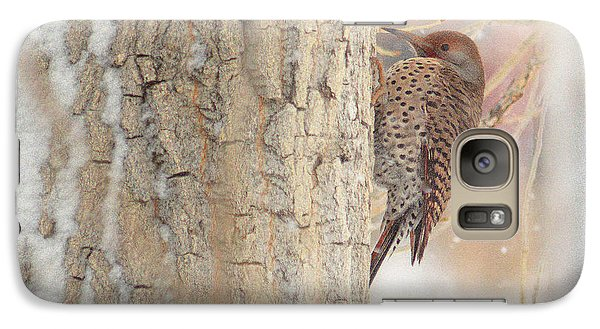 Galaxy Case featuring the photograph Life Of A Northern Flicker by Al  Swasey