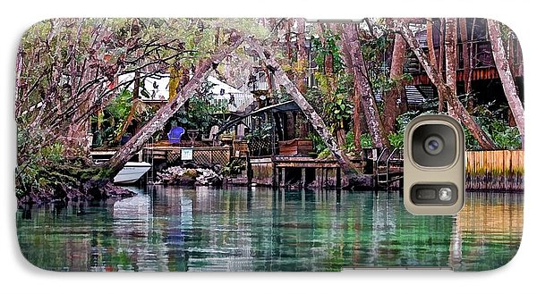 Galaxy Case featuring the photograph Life On Weeki Wachee Springs by Pamela Blizzard