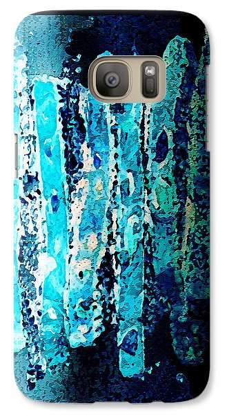 Galaxy Case featuring the digital art Life by Paula Ayers