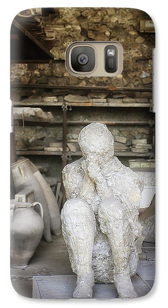 Galaxy Case featuring the photograph Life Time Ago by Kim Andelkovic