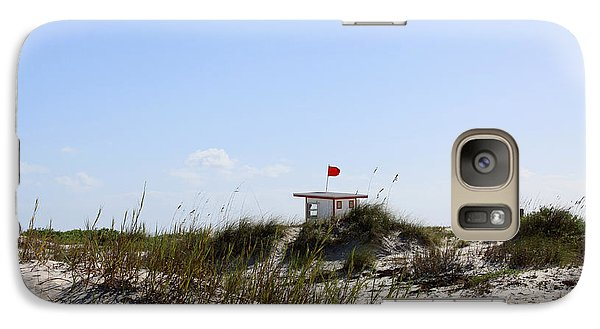 Galaxy Case featuring the photograph Lifeguard Station by Chris Thomas