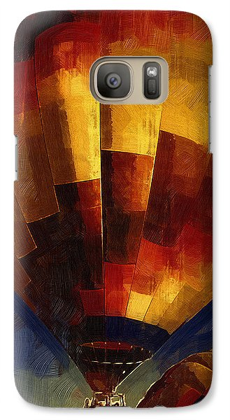 Galaxy Case featuring the digital art Lift by Kirt Tisdale