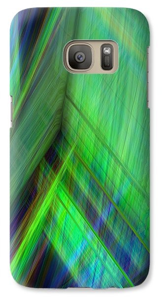 Galaxy Case featuring the digital art Lift by Steve Sperry