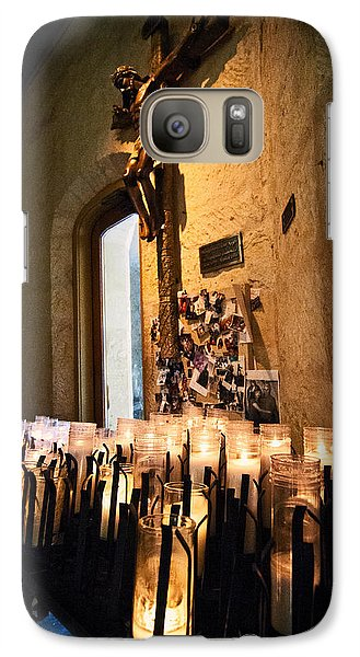 Galaxy Case featuring the photograph Light A Candle For Me by Andy Crawford