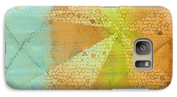 Galaxy Case featuring the digital art Light And Color Layers by Constance Krejci