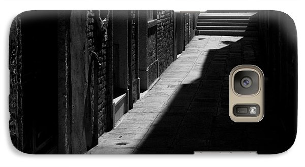 Galaxy Case featuring the photograph Light And Shadow - Venice by Lisa Parrish