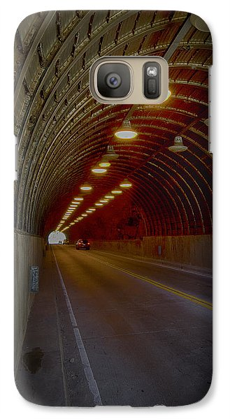 Galaxy Case featuring the photograph Light At The End... by Joseph Hollingsworth