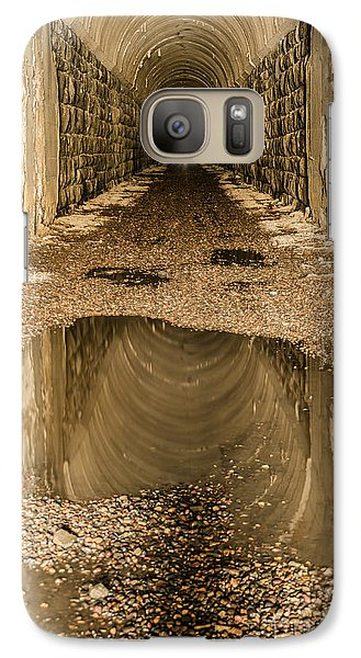 Galaxy Case featuring the photograph Light At The End Of The Tunnel by Sue Smith