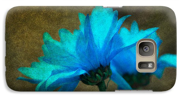 Galaxy Case featuring the photograph Light Blue by Linda Segerson