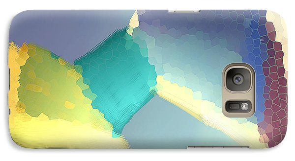 Galaxy Case featuring the digital art Light Box by Constance Krejci