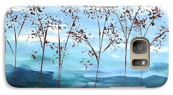 Galaxy Case featuring the painting Light Breeze by Linda Bailey