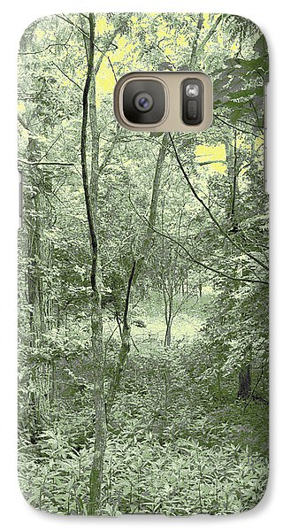 Galaxy Case featuring the photograph Light Forest Scene by Tom Wurl
