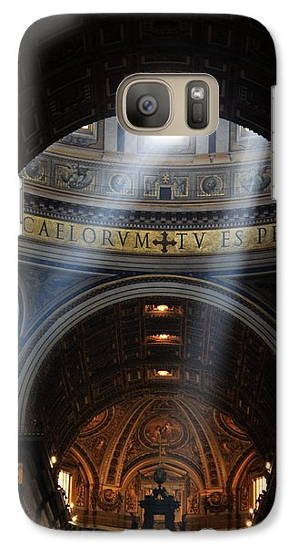 Galaxy Case featuring the photograph Light From Above by Oscar Alvarez Jr