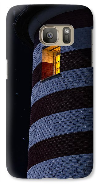 Galaxy Case featuring the photograph Light From Within by Marty Saccone