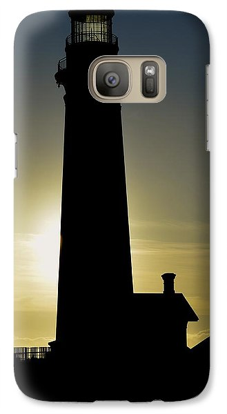 Galaxy Case featuring the photograph Light House by Alex King