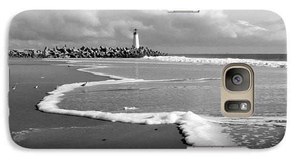 Galaxy Case featuring the photograph Santa Cruz - Light House by Haleh Mahbod