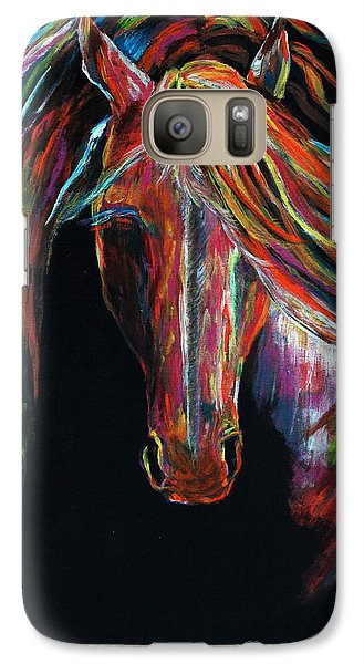 Galaxy Case featuring the painting Light In The Darkness by Jennifer Godshalk