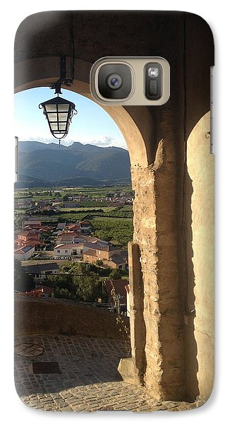 Galaxy Case featuring the photograph Light On The Landscape by Ankya Klay