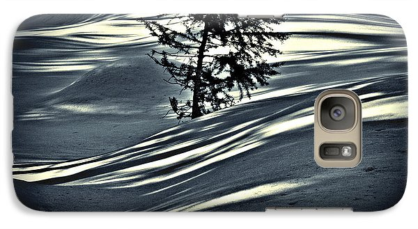 Galaxy Case featuring the photograph Light On The Snow by Janie Johnson