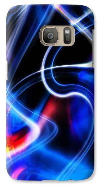 Galaxy Case featuring the digital art Light Orgasmic by Selke Boris