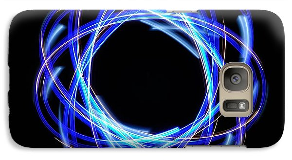 Galaxy Case featuring the photograph Light Patterns 003 by Todd Soderstrom