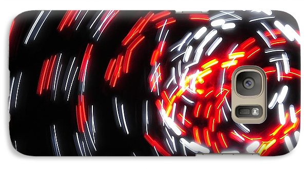 Galaxy Case featuring the photograph Light Patterns 008 by Todd Soderstrom