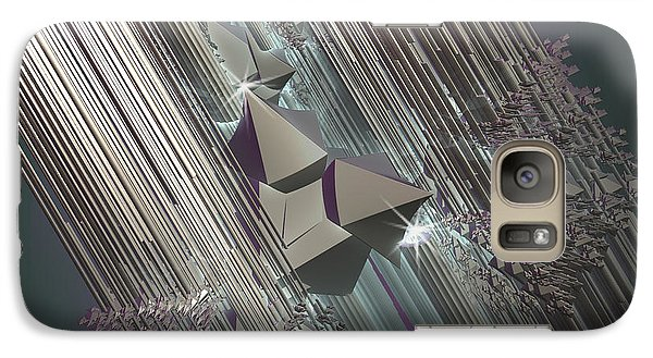 Galaxy Case featuring the digital art Light Rays by Melissa Messick