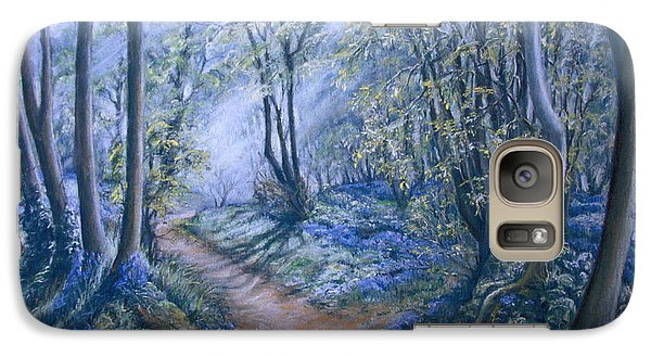 Galaxy Case featuring the painting Light by Rosemary Colyer