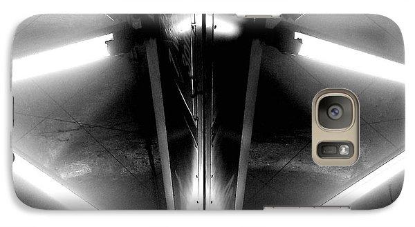 Galaxy Case featuring the photograph Light Sabers by James Aiken