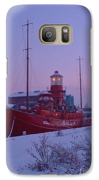 Galaxy Case featuring the photograph Light Ship by John Williams