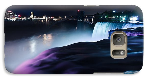 Galaxy Case featuring the photograph Light Show by Mihai Andritoiu