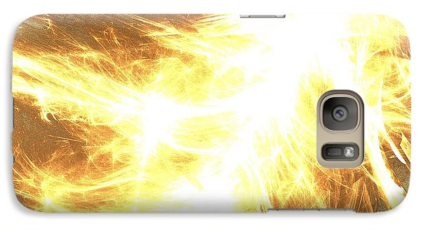 Galaxy Case featuring the digital art Light Spark by Kim Sy Ok