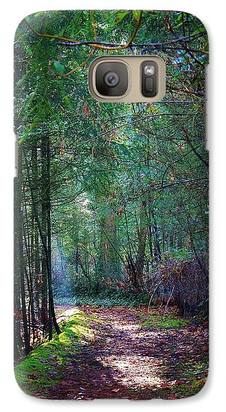 Galaxy Case featuring the photograph Light The Way by Bruce Bley