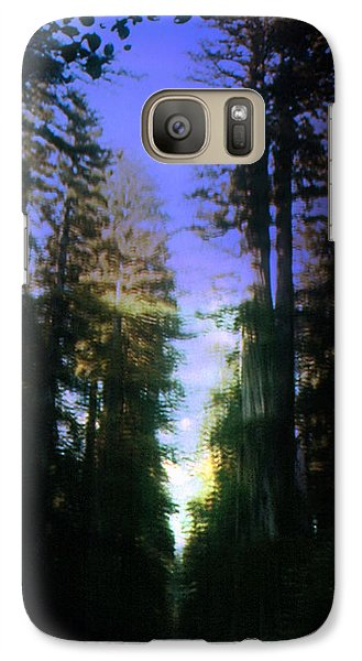 Galaxy Case featuring the digital art Light Through The Forest by Cathy Anderson