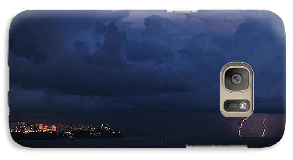 Galaxy Case featuring the photograph Lightening by Erhan OZBIYIK