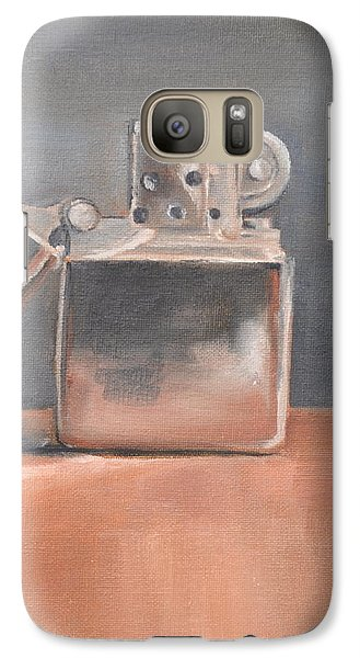 Galaxy Case featuring the painting Lighter by Lindsay Frost